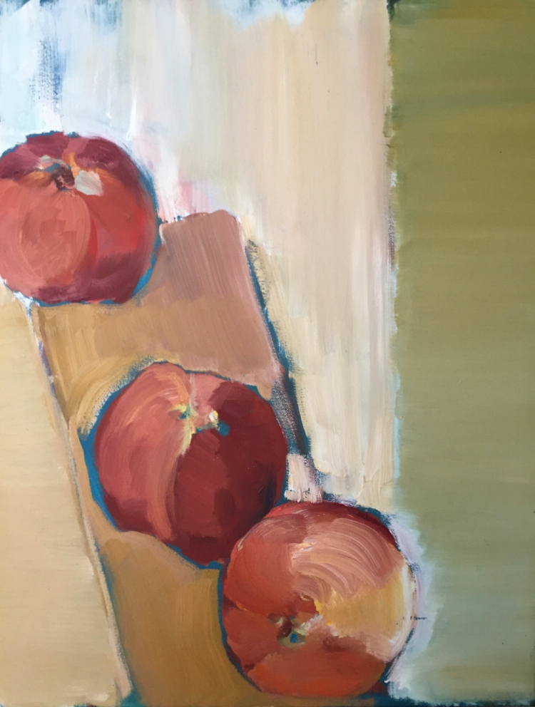 """Peaches"" by Tina Boesch"